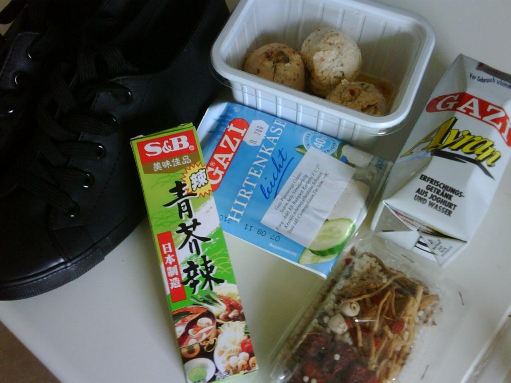 Wasabi és leveskeverék