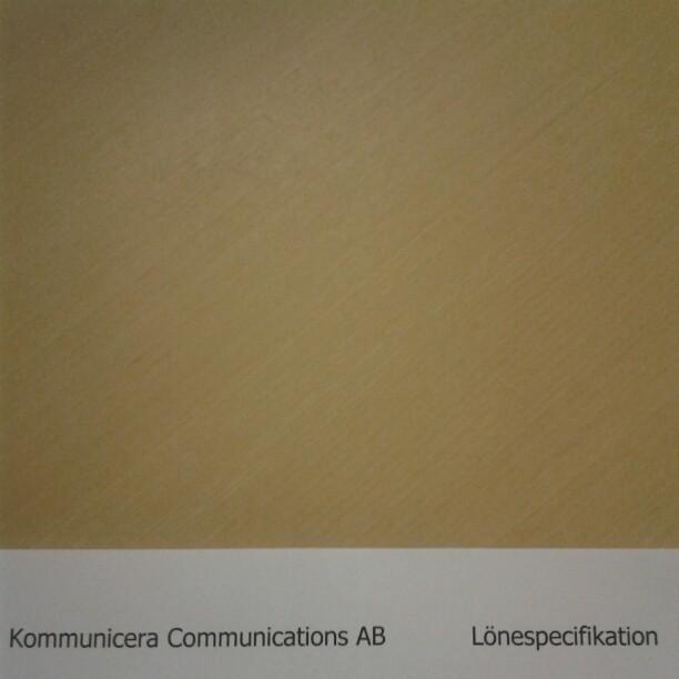 Lönespecifikation - Bérspecifikáció